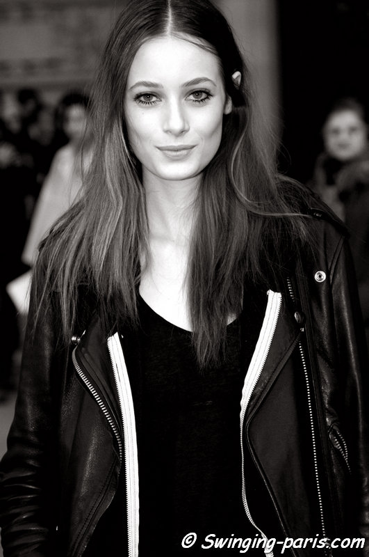Thairine Garcia outside Shiatzy Chen show, Paris F/W 2015 RtW Fashion Week, March 2015