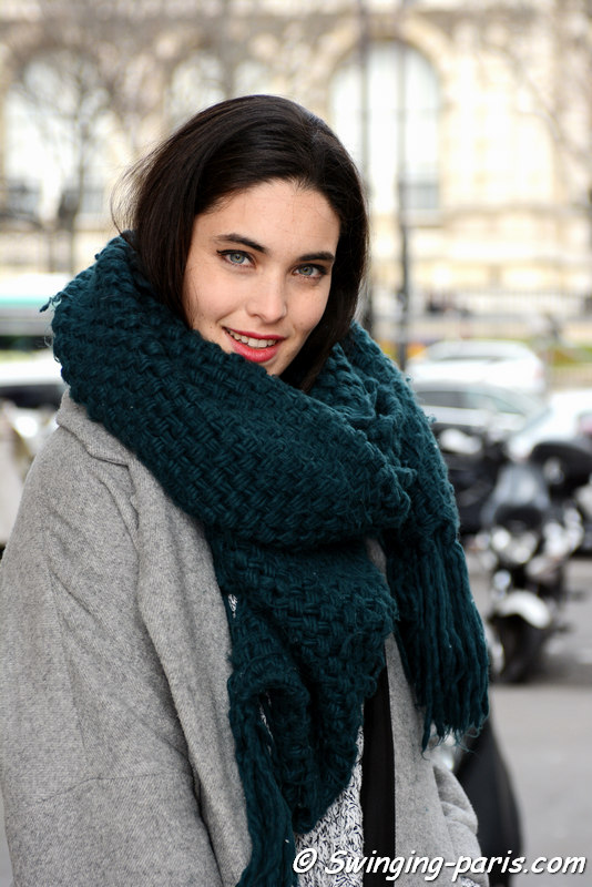 Outside Agnès B show, Paris FW 2016 RtW Fashion Week, March 2016
