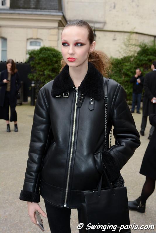 Ala Sekula outside Vanessa Seward show, Paris F/W 2017 RtW Fashion Week, March 2017