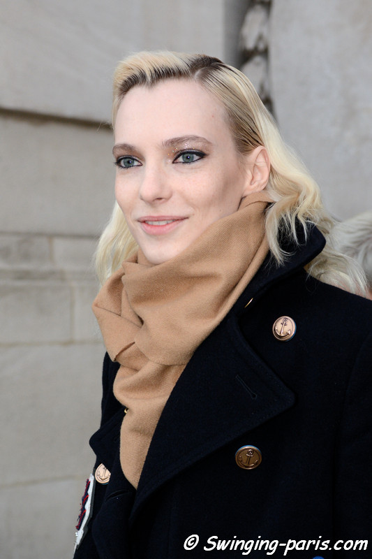 Zlata Semenko outside Shiatzy Chen show, Paris F/W 2017 RtW Fashion Week, March 2017