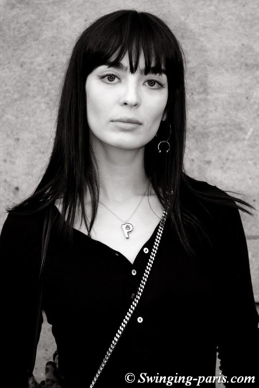 Cristina Piccone outside Guy Laroche show, Paris FW 2019 RtW Fashion Week, February 2019
