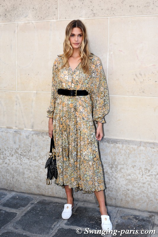 Noel Berry outside Zuhair Murad show, Paris F/W 2019 Haute Couture Fashion Week, July 2019