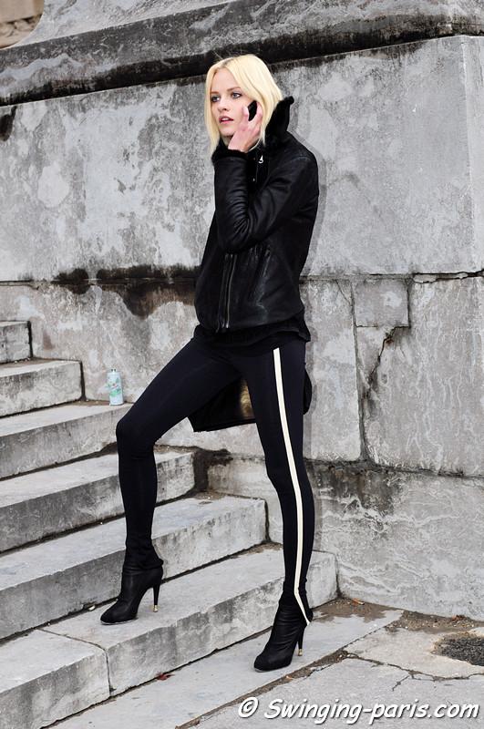 画像 海外モデル*ginta Lapina ギンタ・ラピーナ 私服ファッションスナップ! Naver まとめ
