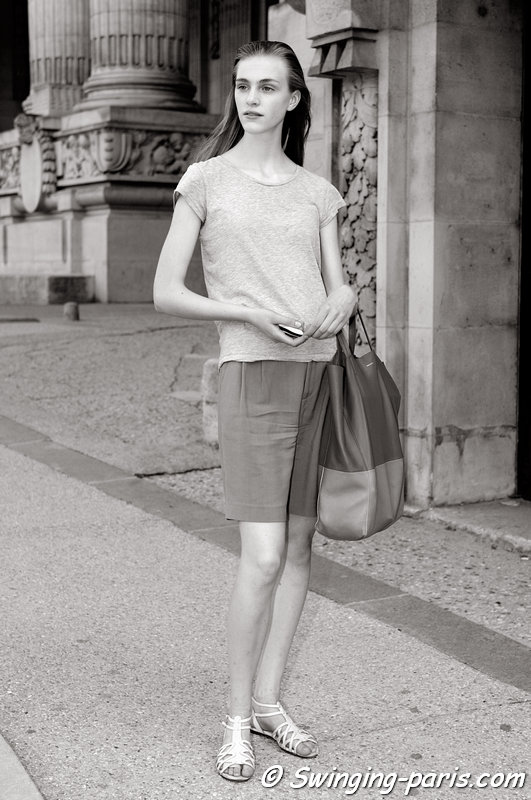 Hedvig Palm outside Giambattista Valli show, Paris Haute Couture F/W 2013 Fashion Week, July 2013