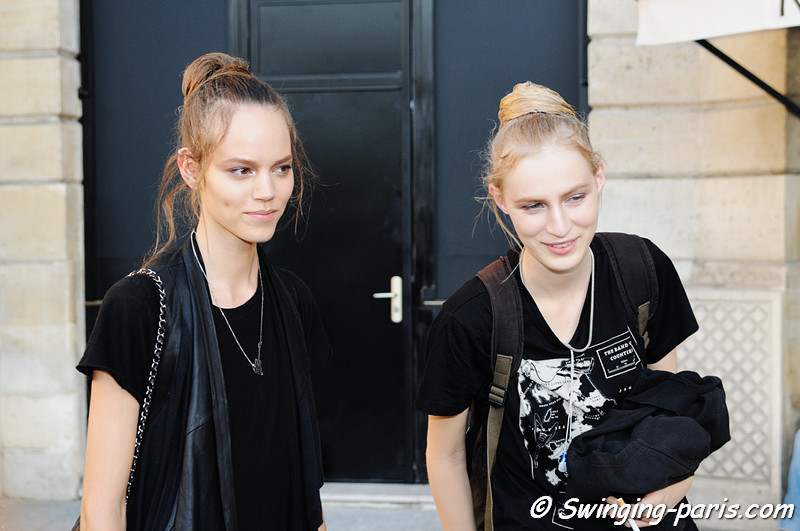 Julia Nobis and Freja Beha