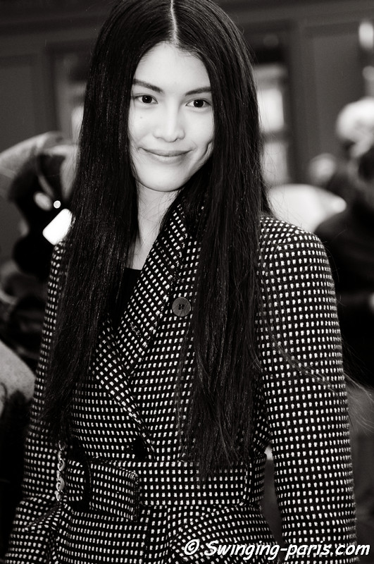 Sui He leaving Herms show, Paris F/W RtW 2012 Fashion Week, March 2012