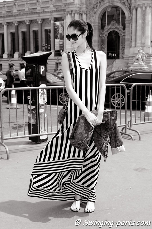 Sui He leaving Chanel show, Paris Haute Couture F/W 2013 Fashion Week, July 2013